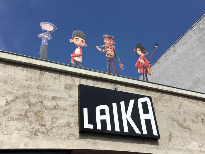 SDCC 2017 - LAIKA at Gaslamp