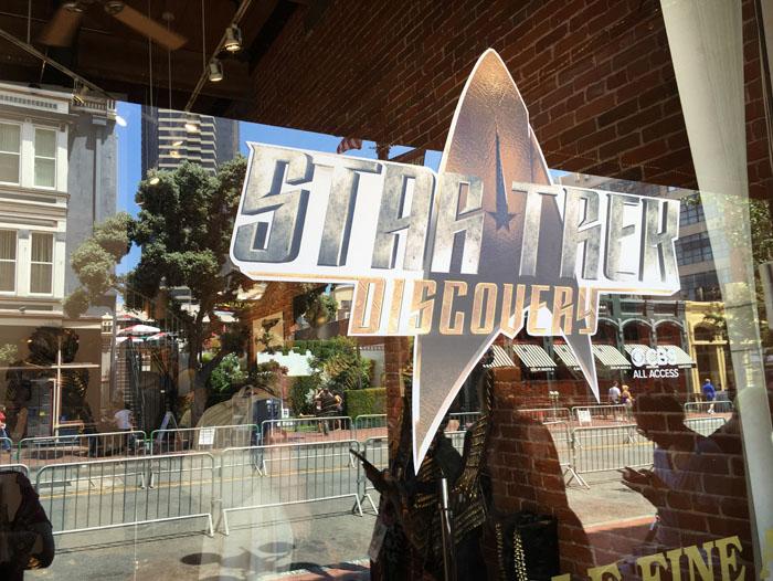 SDCC 2017 - Star Trek Discovery display