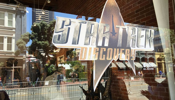 SDCC 2017 - Star Trek Discovery display