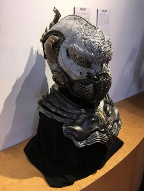 SDCC 2017 - Star Trek Discovery Klingon helmet and collar