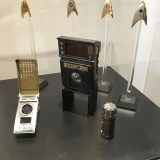 SDCC 2017 - Star Trek Discovery Starfleet insignia badges, communicator, tricorder