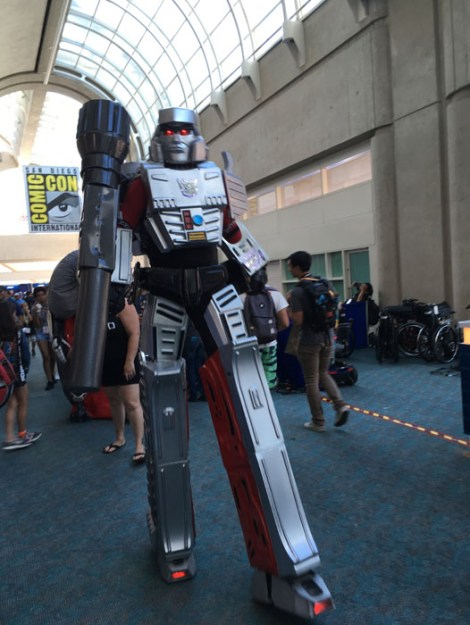 SDCC 2017 - cosplay Megatron