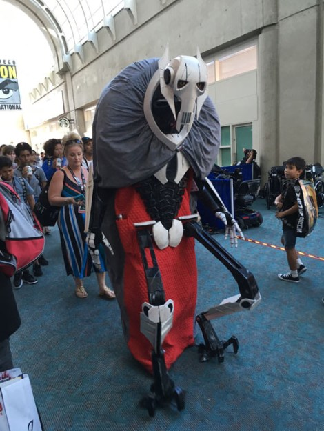 SDCC 2017 - cosplay General Grievous