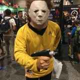 SDCC 2017 - cosplay Michael Meyers Kirk