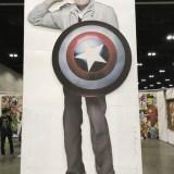 LA Comic-Con 2017 - giant Stan Lee