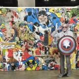 LA Comic-Con 2017 - Stan Lee Marvel mural