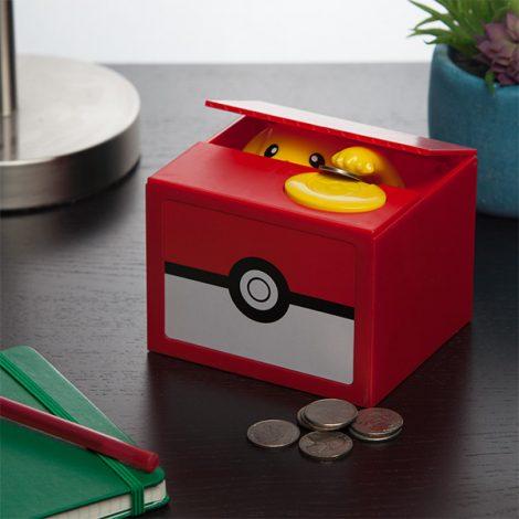 thinkgeek pikachu coin bank