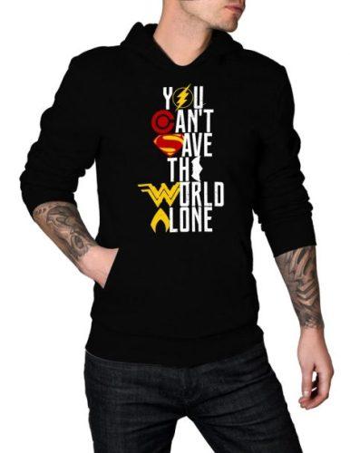 justice league hoodie giveaway
