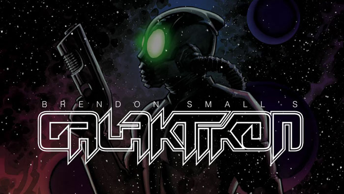 SDCC 2017 - Brendon Small's Galaktikon comic