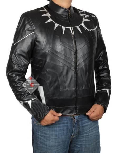 black panther jacket side
