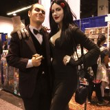 WonderCon Anaheim 2018 cosplay - Gomez and Morticia Addams