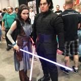 Amazing Las Vegas 2018 - Star Wars Rey and Kylo Ren