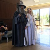 SDCC 2018 - Gandalf and Galadriel