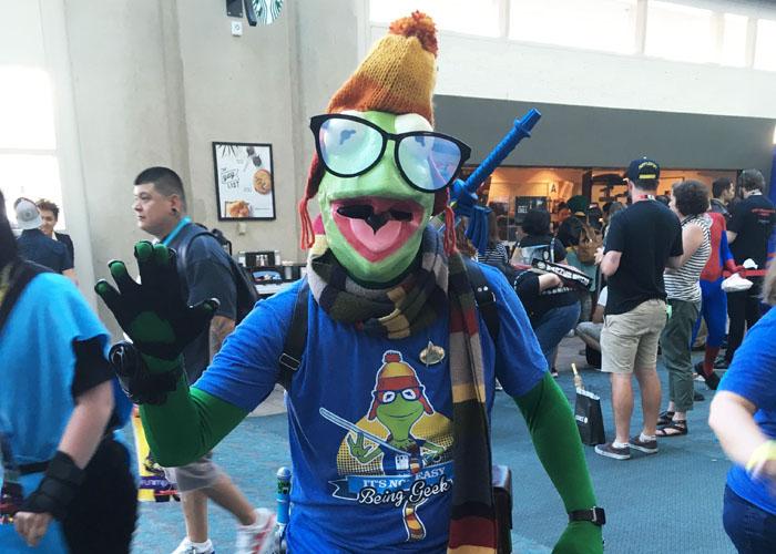 SDCC 2018 - Forever Geek Kermit