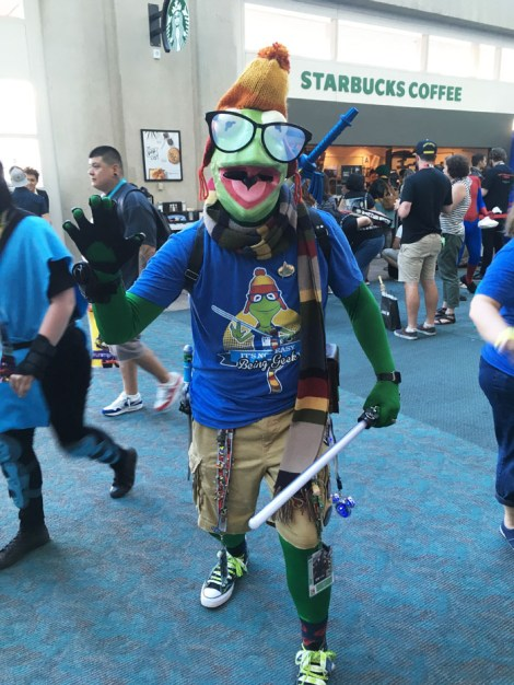 SDCC 2018 - Everygeek Kermit