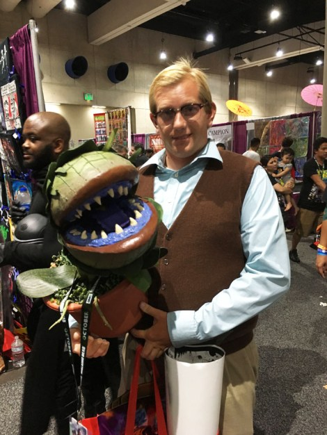 SDCC 2018 - Seymour and Audrey II