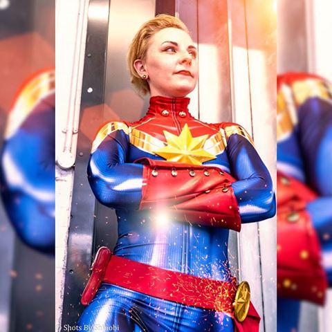 captain marvel cosplays