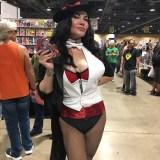 DC's Zatanna at Long Beach Comic-Con 2018