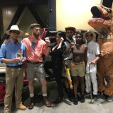 Jurassic Park crew at Long Beach Comic-Con 2018