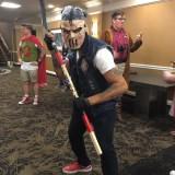 TMNT Casey Jones at Long Beach Comic-Con 2018