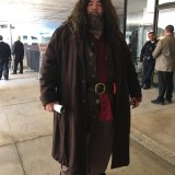 Hagrid from Harry Potter at Long Beach Comic-Con 2018