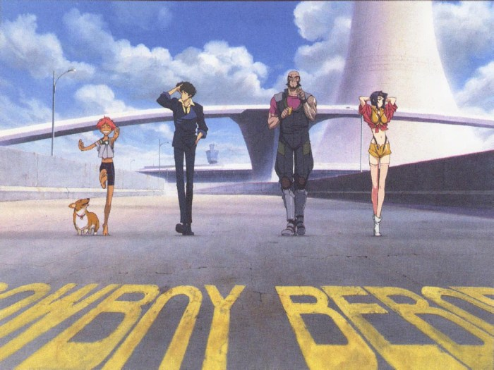 best english anime dubs Cowboy Bebop