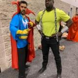 WonderCon 2019 - Doctor Strange and Luke Cage