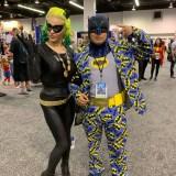 WonderCon 2019 - retro Catwoman and Batman