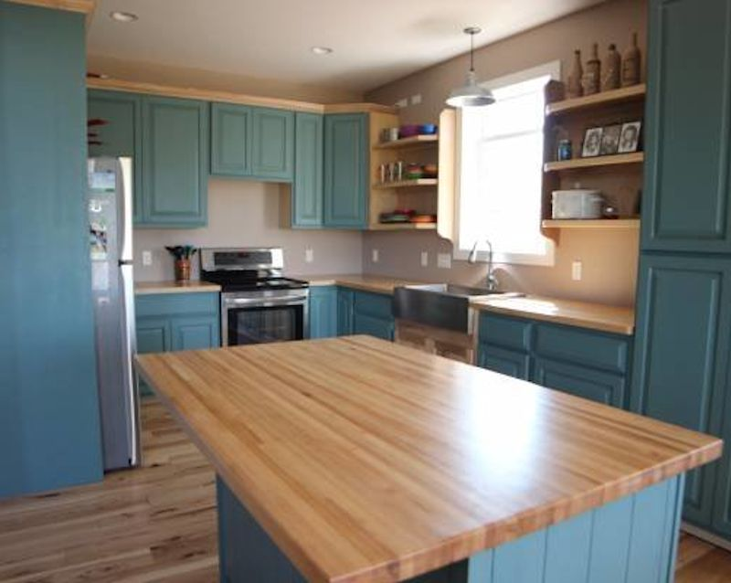 kitchen island tops sinks for butcher block countertop top solid hard maple