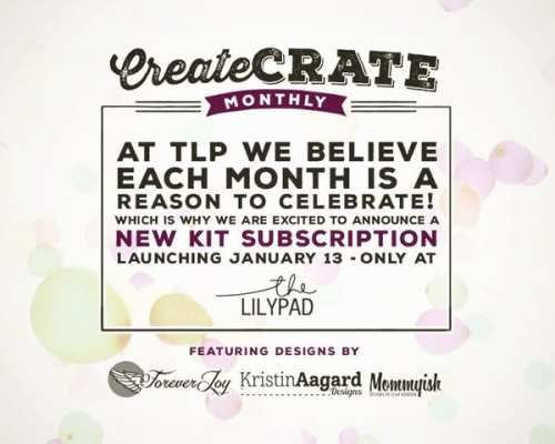 Coming Soon! Create Crate Monthly Subscription