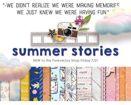Let's Scrapbook Summer Stories!