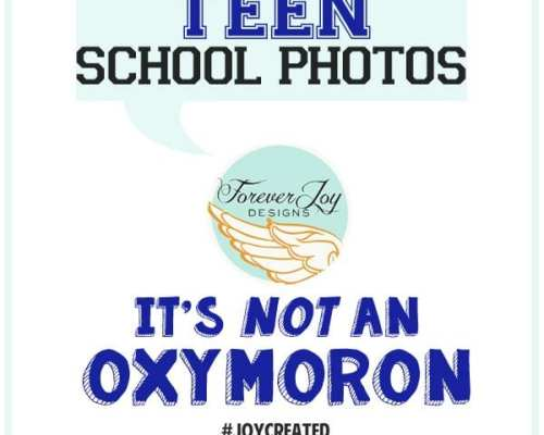 Teen School Photos | Mission Impossible?