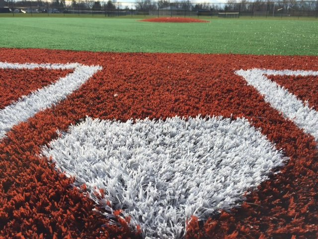 Grove City Baseball Field Artificial Turf with SportsGrass