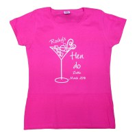 Cocktail Glass T-shirt   Hen party T-shirts   Forever Memories