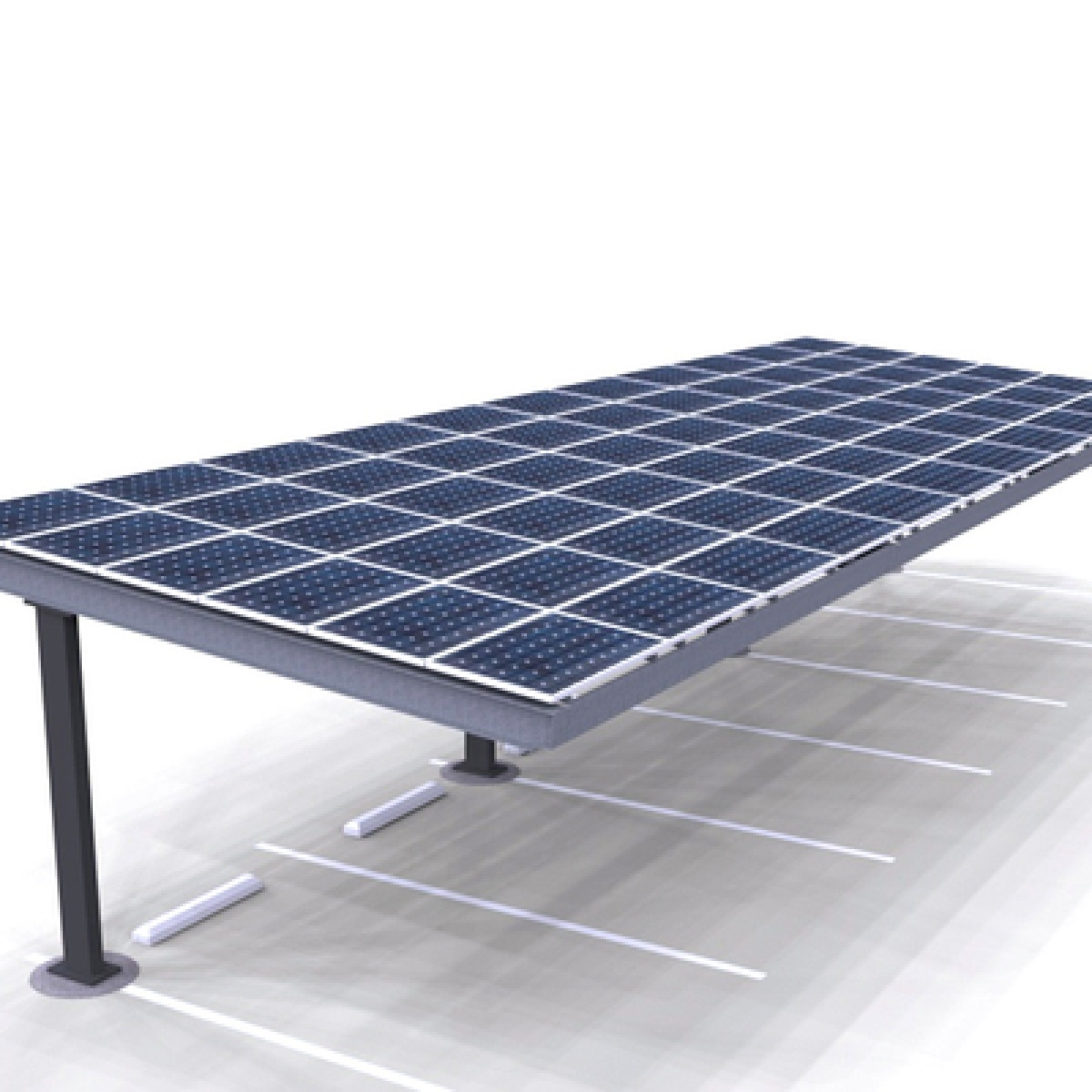 Carport Structures Solar Carport Single Column Single