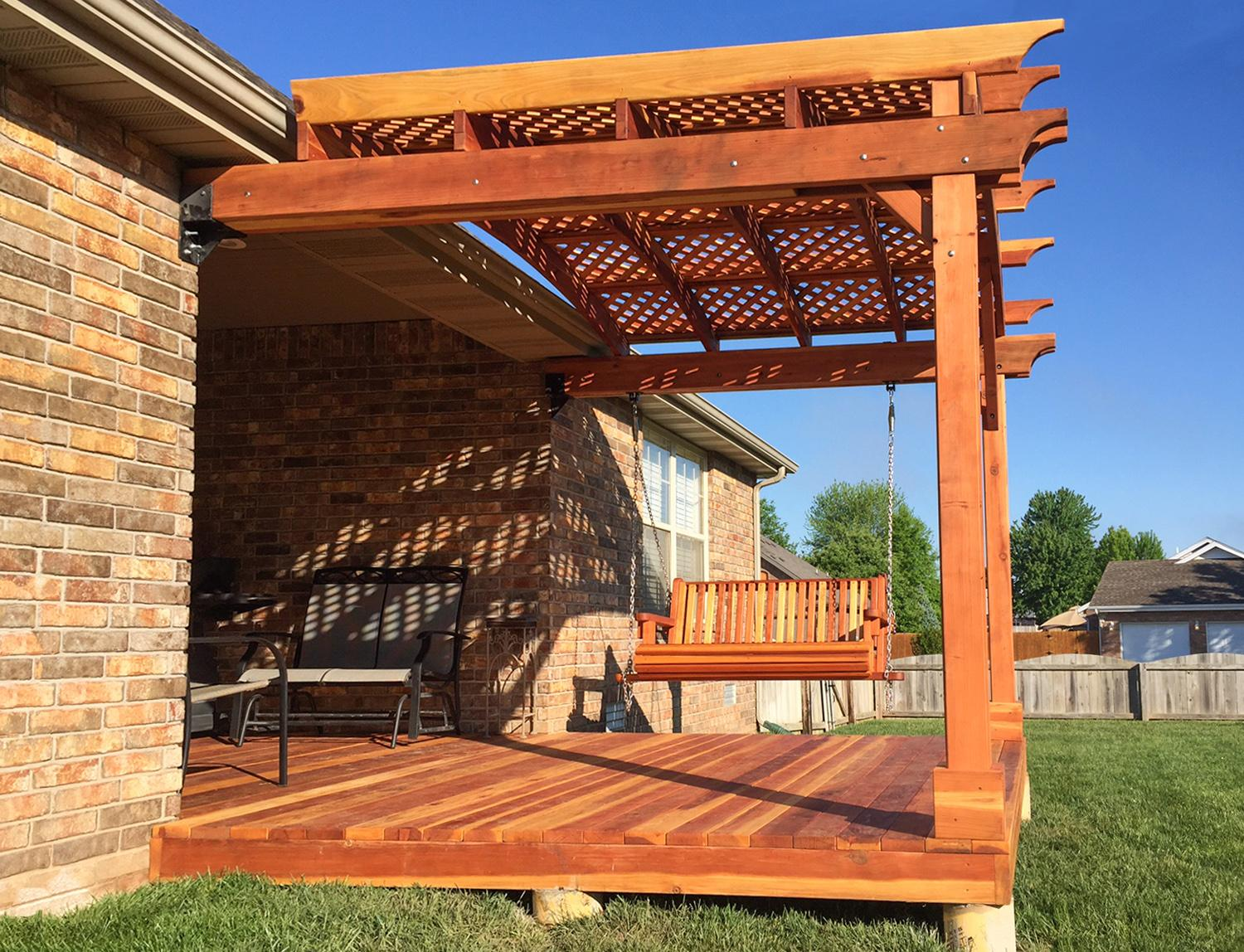 ... a pergola of your own but are stuck on deciding if you want to purchase  a prefab pergola kit or build your own. Here are some pros and cons of each. - Pros And Cons Of A Prefab Pergola Kit Vs. Building Your Own