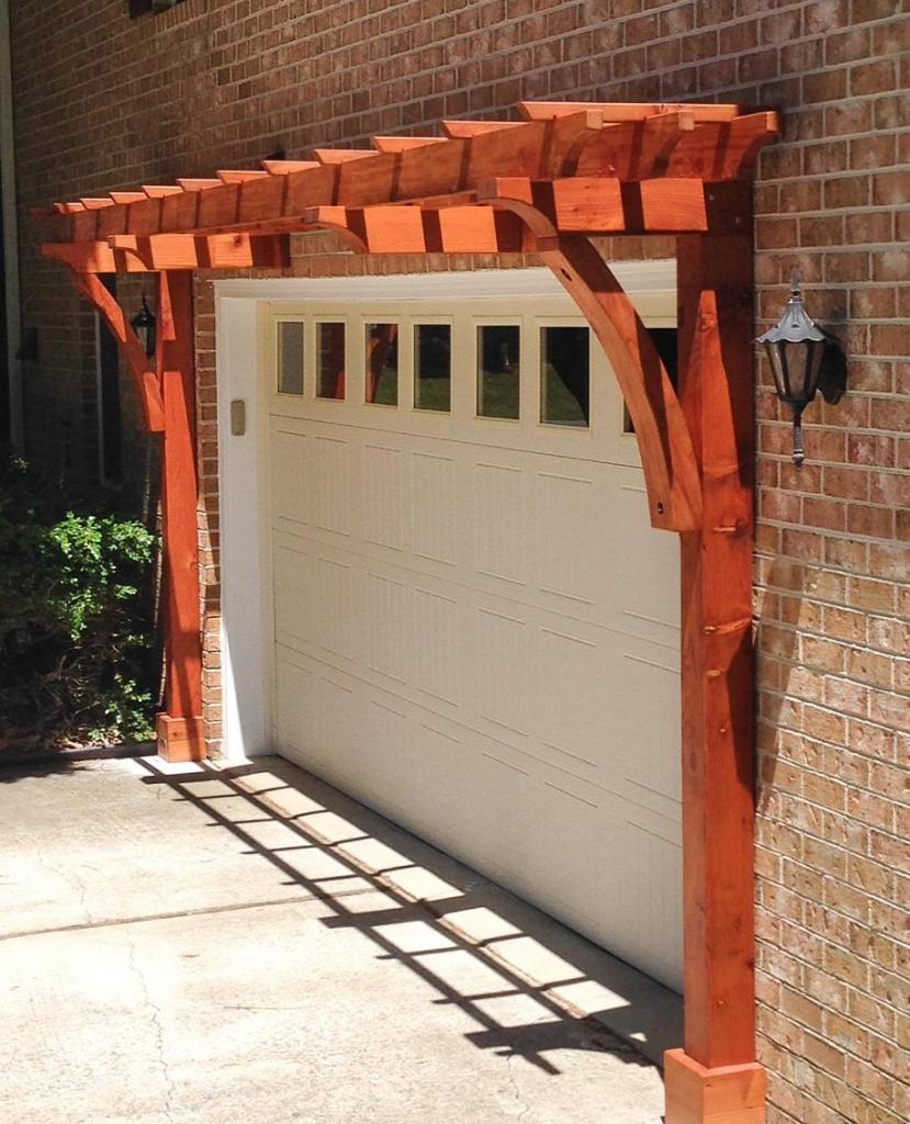 How an Attached Redwood Arbor Kit can Perfectly Complement your Garage