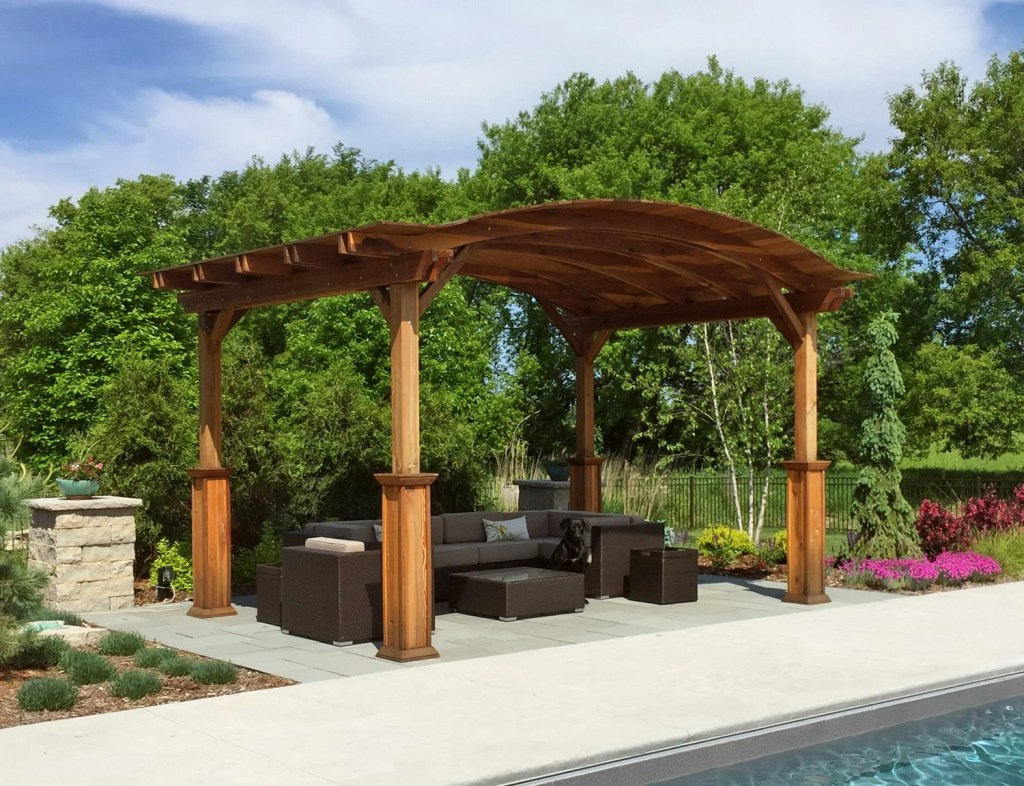 3 Popular Redwood Pavilion Plans to Fit Any Property or Business