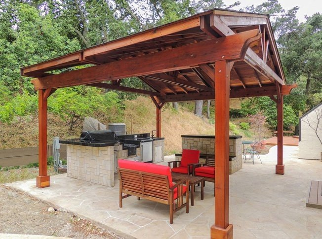 4 Beautiful Outdoor Pavilion Ideas that will enhance your hotel grounds