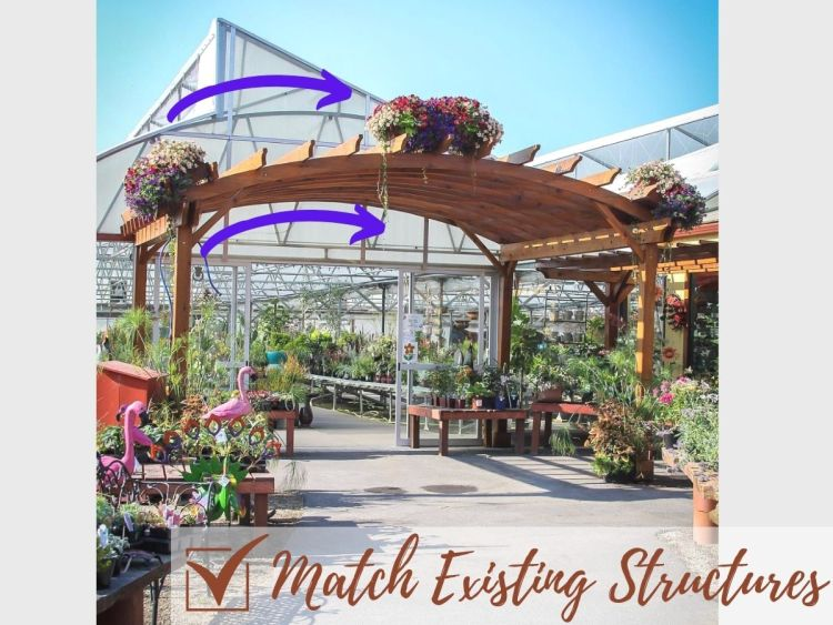 Match Existing Structures
