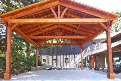 outdoor pavilion kits handcrafted from