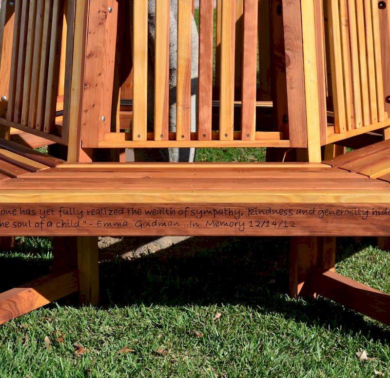 memorial natural redwood tree