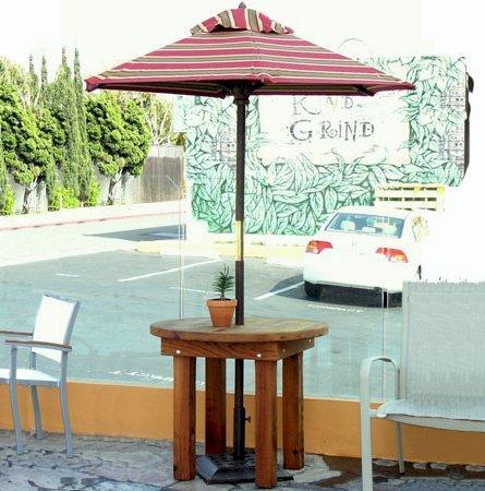 durable outdoor patio table custom
