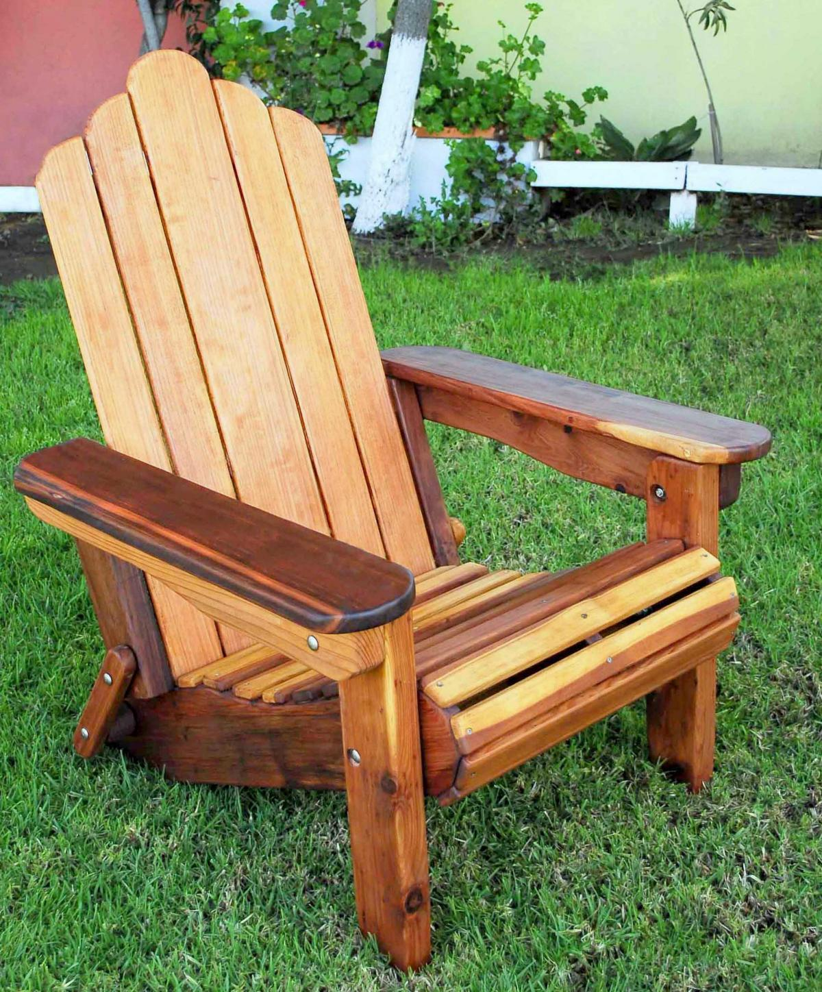 Adirondack Wooden Folding Chair