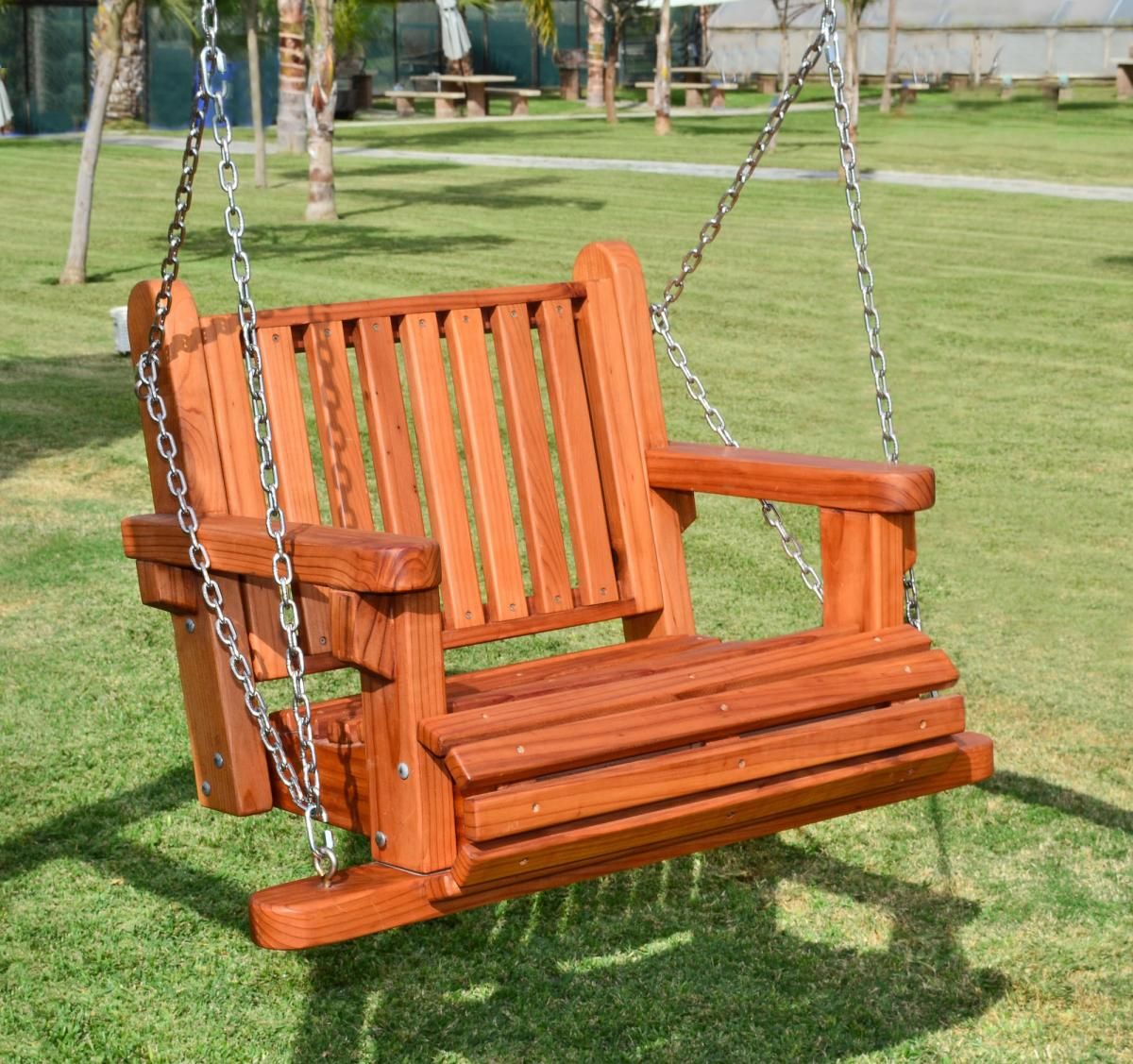 swing chair seat gold chairs for sale garden redwood swings forever armchair seats only