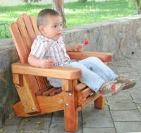Kids Wooden Adirondack Chair, Outdoor Wooden Chairs