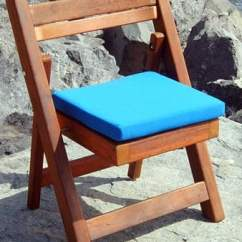 Folding Chair With Cushion Cover Hire Thurrock Standard Wooden No Assembly Needed