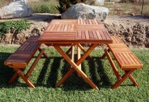 Rectangular Folding Tables Built Decades