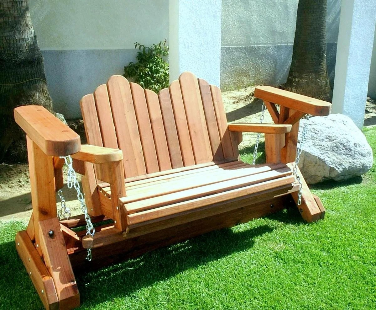 adirondack chair glider plan