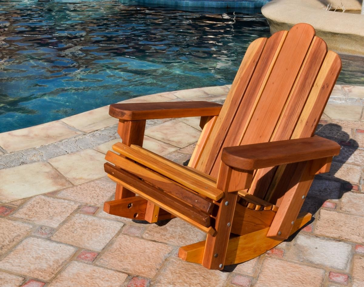 wooden rocking chair plans best portable massage adirondack chairs forever redwood